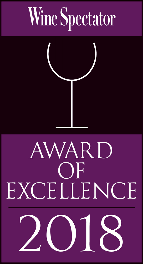 Wine Spectator Award of Excellence